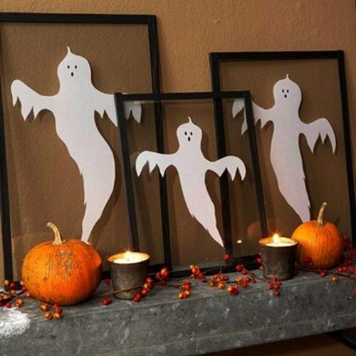 Как украсить дом к Хэллоуину своими руками