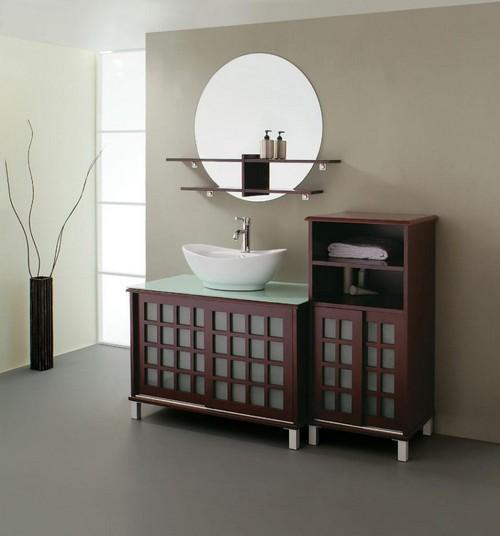 Универсальный комплект мебели для ванной Мойдодыр