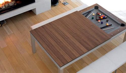 Мужской интерьер - стол обеденный трансформер