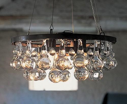 Подвесные люстры стекло
