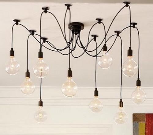 Свисающие светильники - люстра