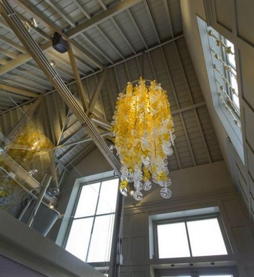 Люстры подвесные для высоких потолков фото