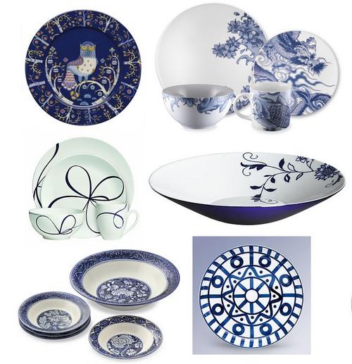 Столовая посуда для праздничной сервировки стола