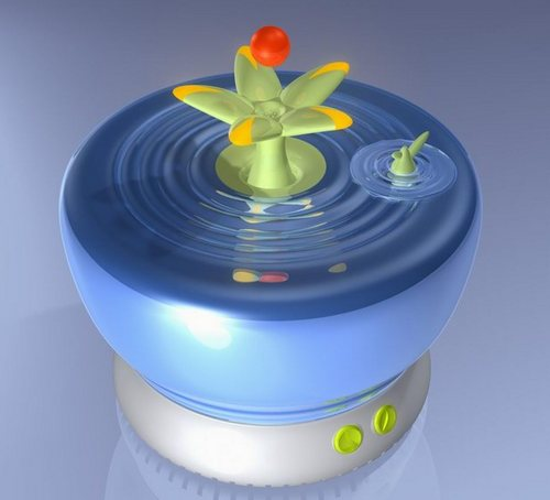 Увлажнитель воздуха для детской комнаты «цветочек»