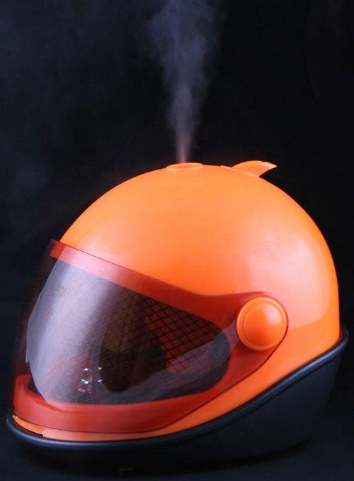 Увлажнитель воздуха декоративный в виде шлема