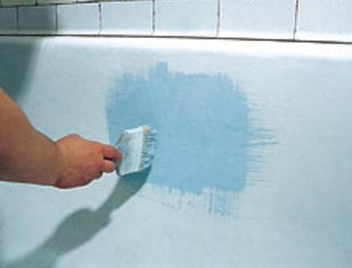 Реставрация ванн - как восстановить эмаль ванны