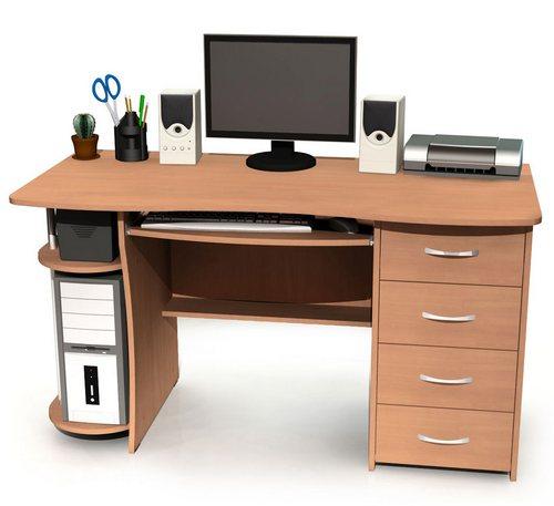 Компьютерный столик - сборка мебели своими руками