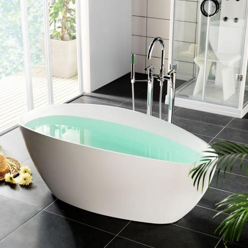 Смеситель для ванны напольный