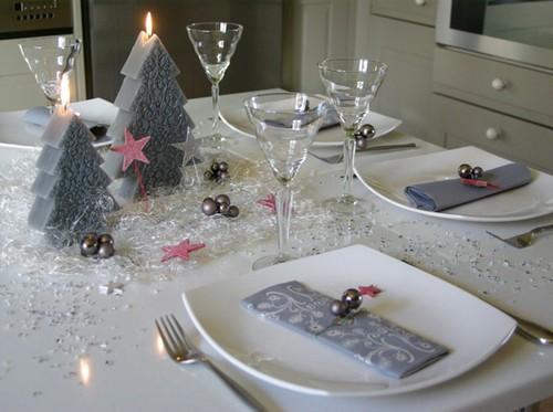 Сервировка праздничного новогоднего стола фото