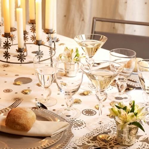 Новогодние свечи для праздничного стола