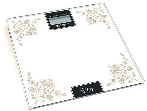 Весы напольные электронные с рисунком