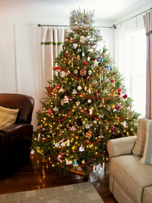 Новогодние елки украсить