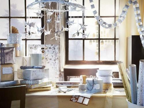 Как украсить гостиную к Новому году 2013 фото