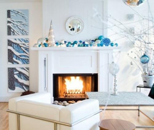 Как украсить гостиную на Новый год 2013