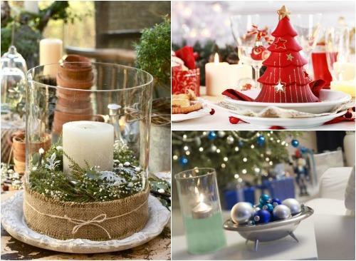 Украшение новогодних свеч своими руками