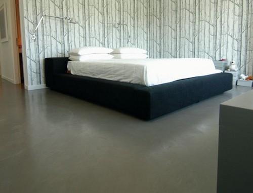 Наливные полы в спальне фото