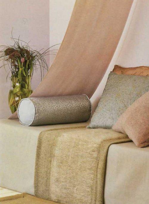 диванные подушки валики