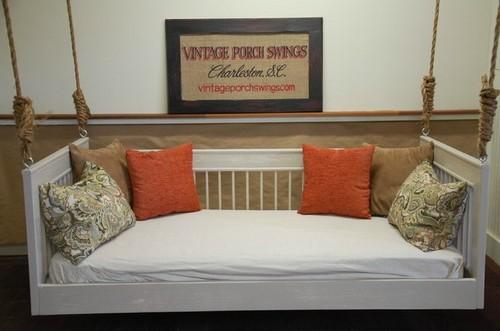 Подвесные кровати для отдыха фото