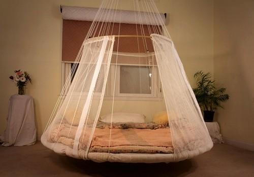 Подвесные кровати к потолку