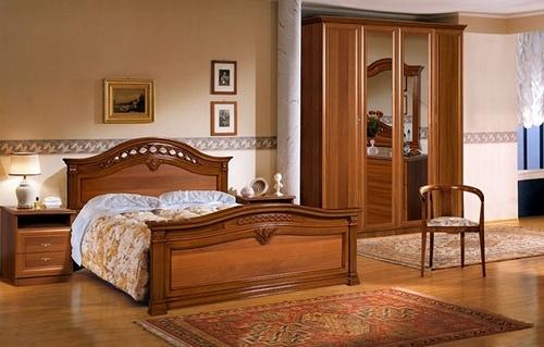 Резные элементы мебели для спальни фото