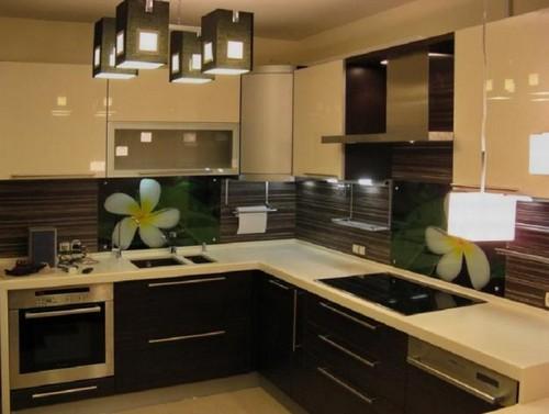 Практичные и стильные кухонные скинали