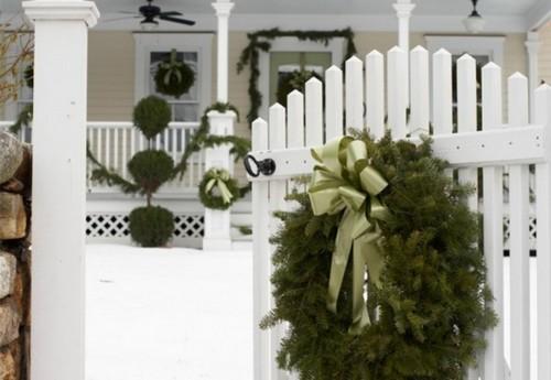 Украшение домов к Новому году
