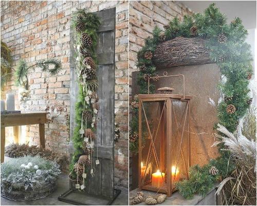 Новогоднее украшение домов