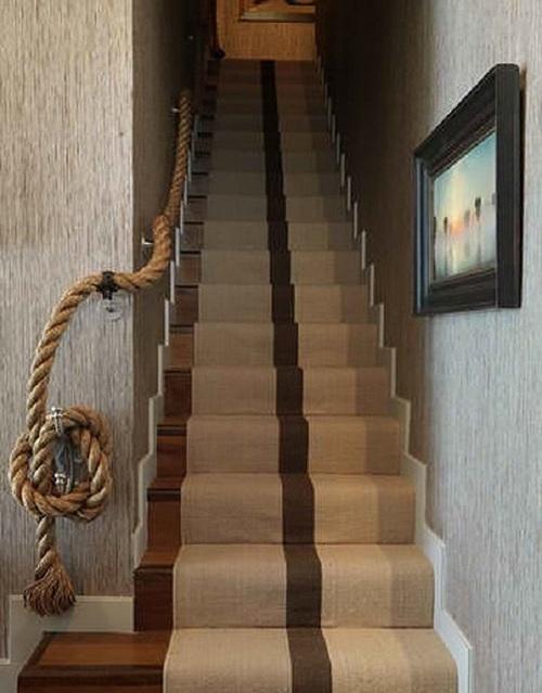 Веревки в интерьере фото