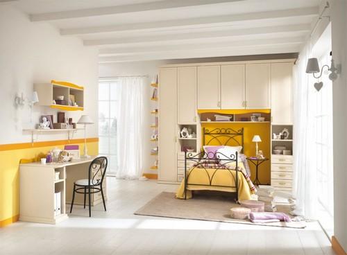 Детская мебель - кровать со шкафом
