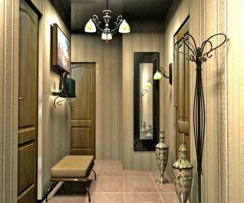 Ремонт в коридоре панели