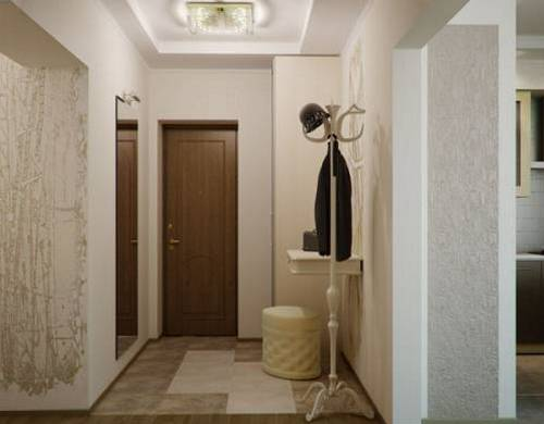 Дизайн интерьера коридора в квартире фото
