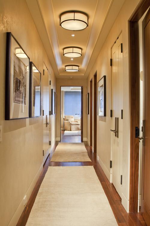 Потолочные светильники для коридора