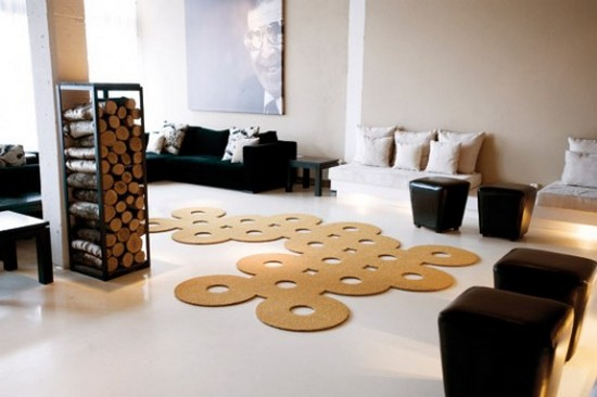 Оригинальные коврики для гостиной