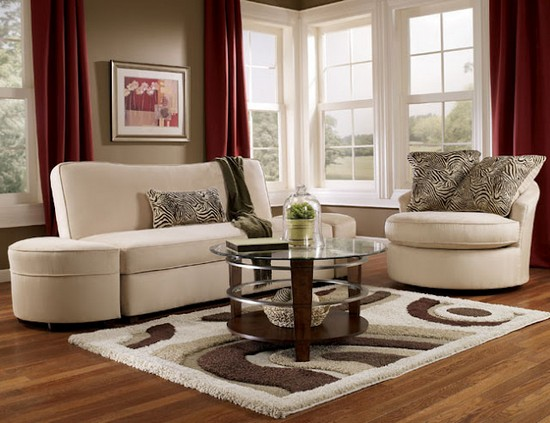Красивый коврик в гостиную