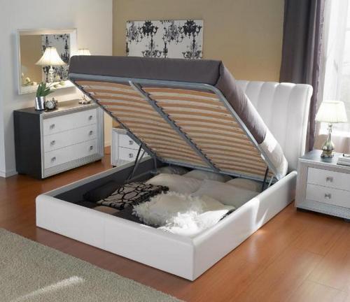 Кровати двуспальные с подъемным механизмом фото