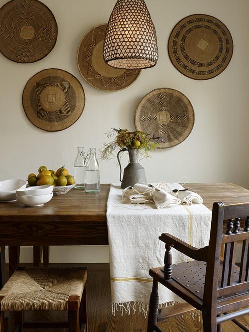 Декоративное панно из дерева для кухни