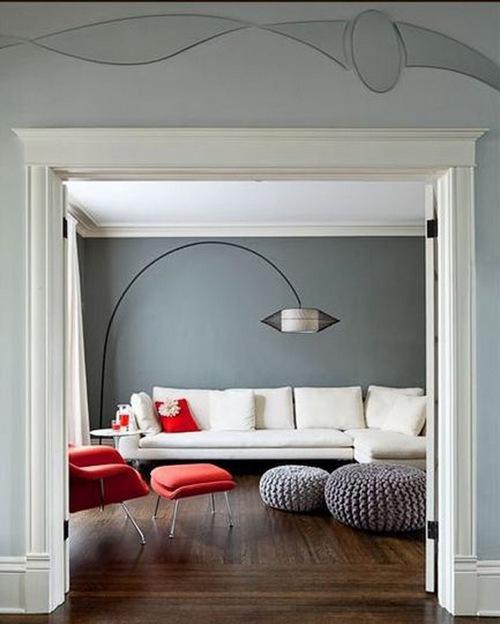 Серый цвет в интерьере фото