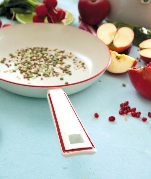 Как готовить на керамической сковороде