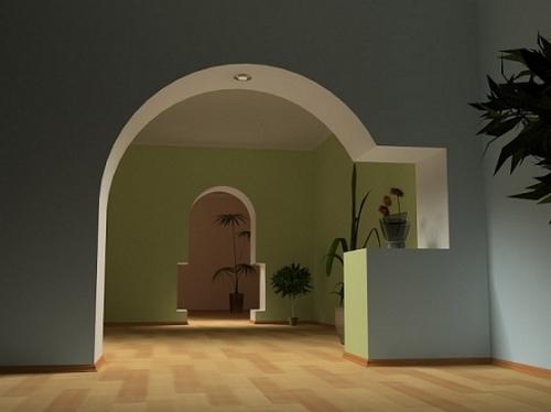 Как сделать арки межкомнатные из гипсокартона
