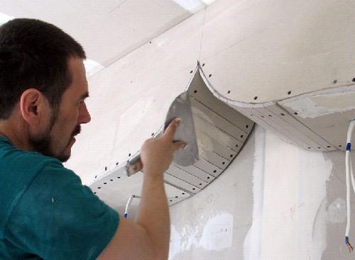 Делаем декоративные арки из гипсокартона фото