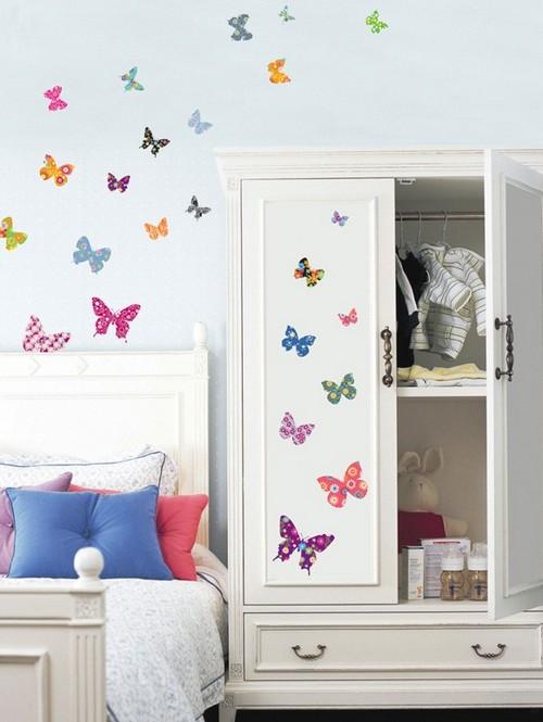 Декоративные наклейки для интерьера бабочки