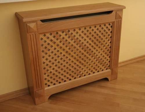 Деревянные экраны на радиаторы отопления