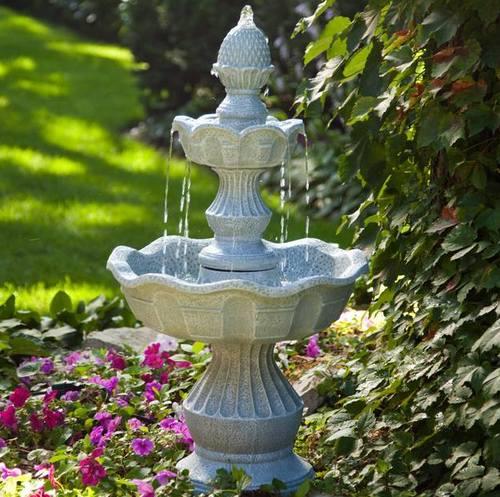 Садовый фонтан фото