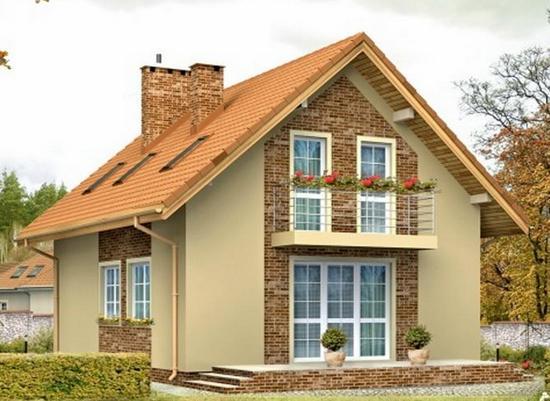 Дома с двухскатной крышей