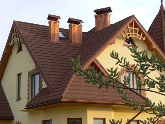 мансардная многощипцовая крыша