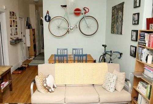 Где повесить велосипед в квартире