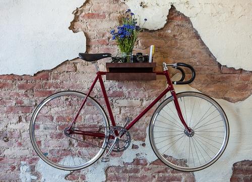 Как разместить велосипед в квартире