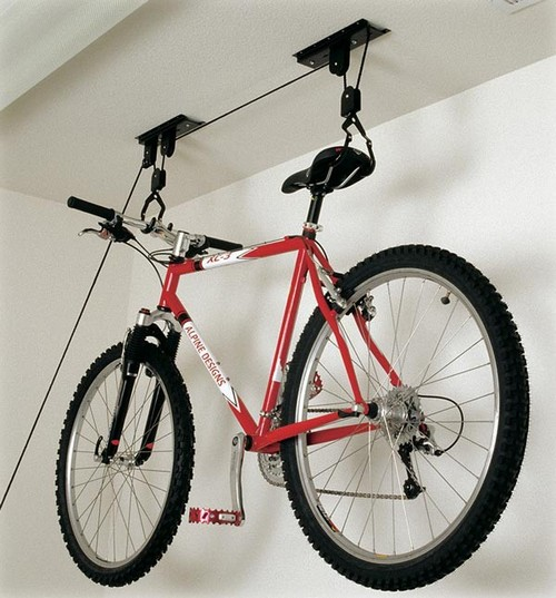 Крепления для велосипеда в квартире