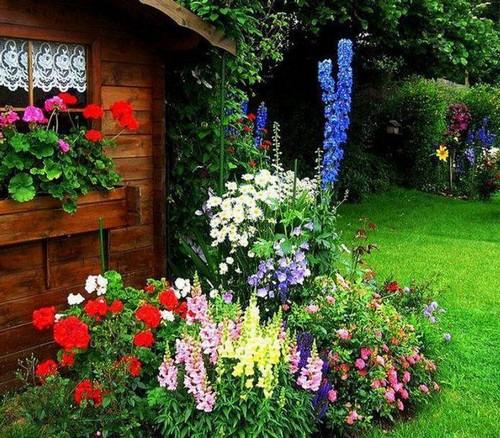 Дизайн на даче в саду своими руками
