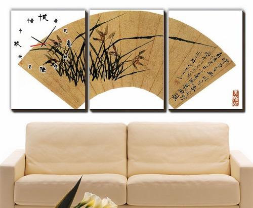 Панно на стену в виде веера